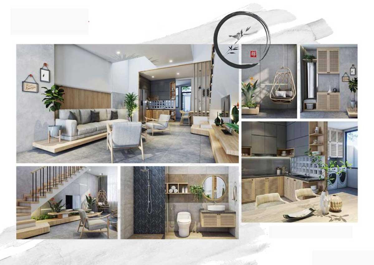 Tầng 1 Nhà phố Takara Residence