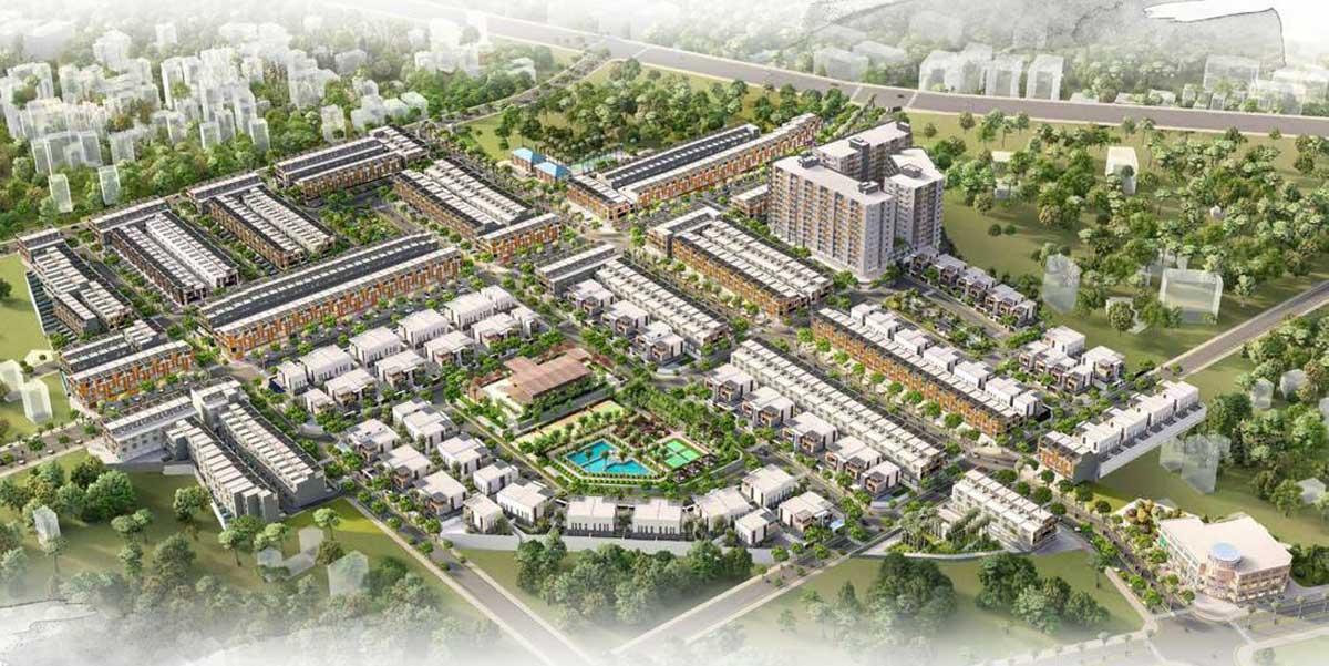 Phối cảnh Dự án Nhà phố – Biệt thự Takara Residence Bình Dương