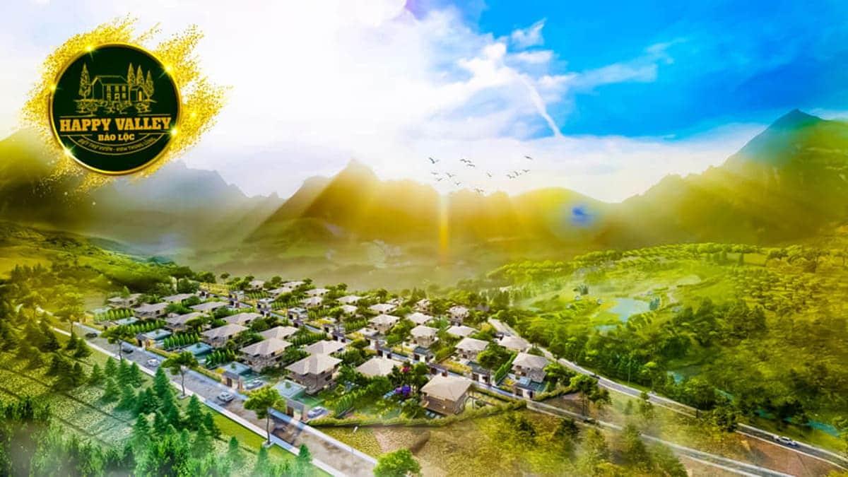Phối cảnh Happy Valley Bảo Lộc