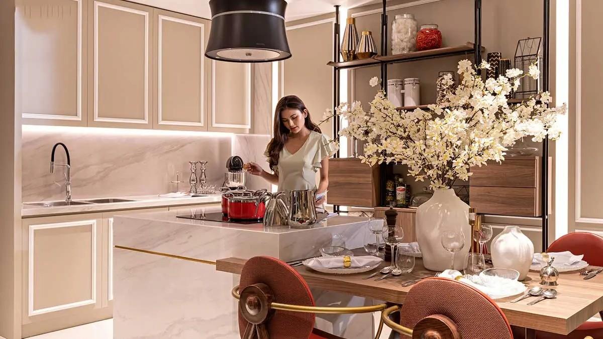 Thiết kế khu vực bếp