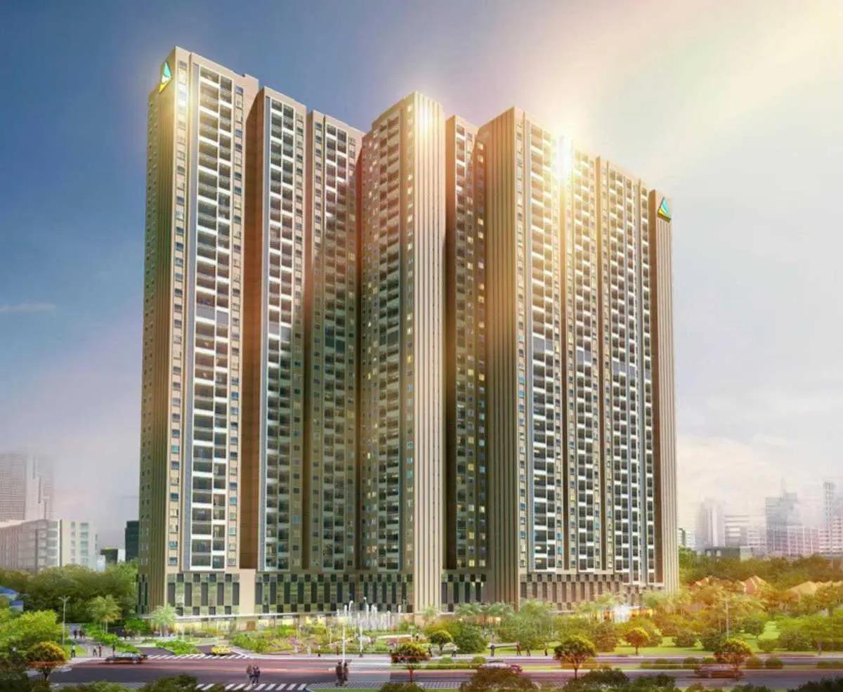 Phối cảnh Dự án Căn hộ Dat Xanh Homes CityView Bình Dương